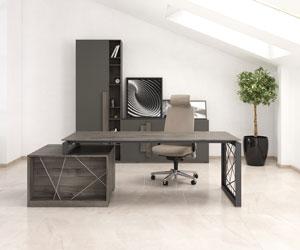 Встречайте серию мебели для руководителя Rays в новых материалах!