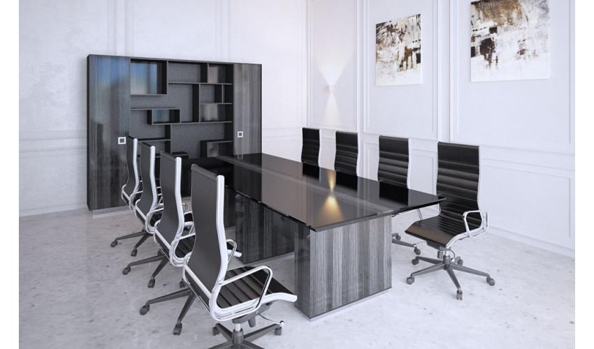 Конференц стол Морион темный