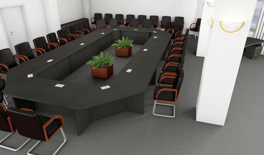 Фото 7. Проект конференц стола