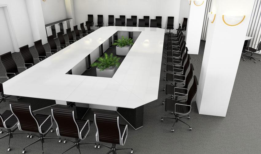 Фото 4. Проект конференц стола
