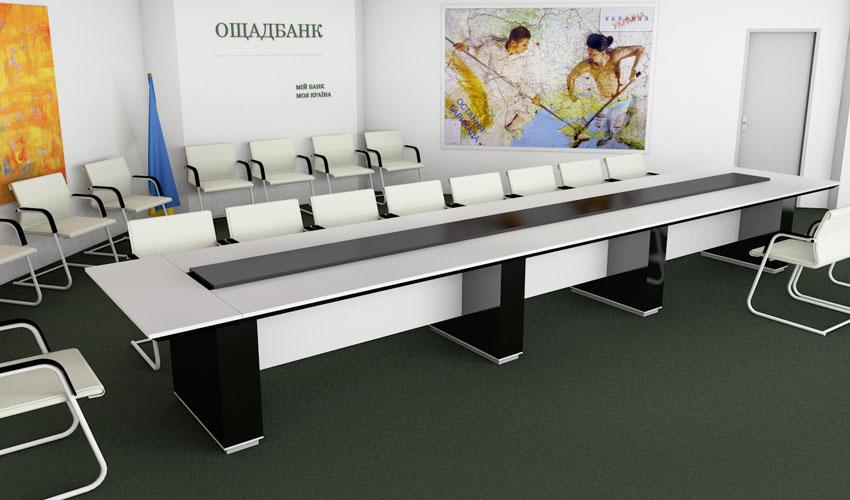 Фото 2. Проект конференц стола