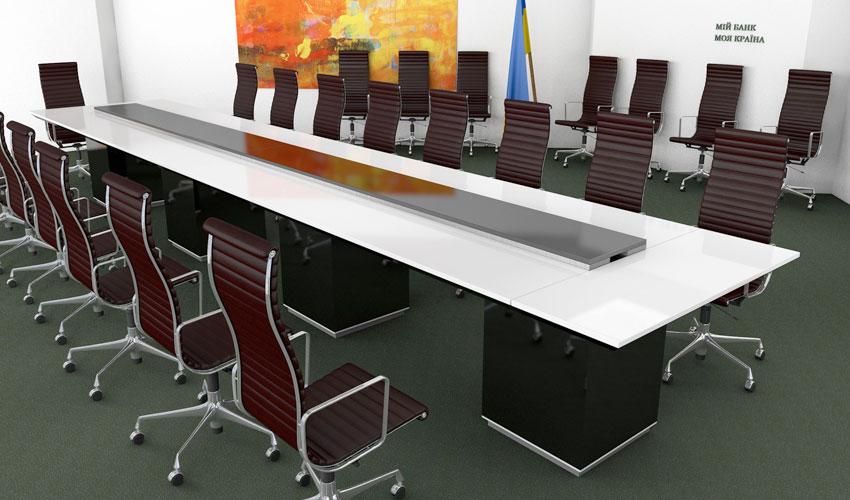 Фото 3. Проект конференц стола