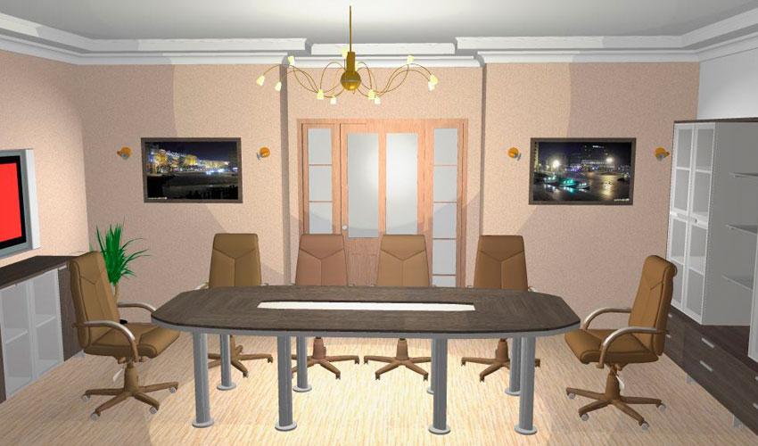Фото 17. Проект конференц стола