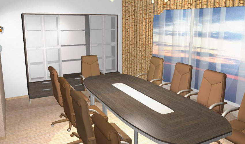 Фото 18. Проект конференц стола