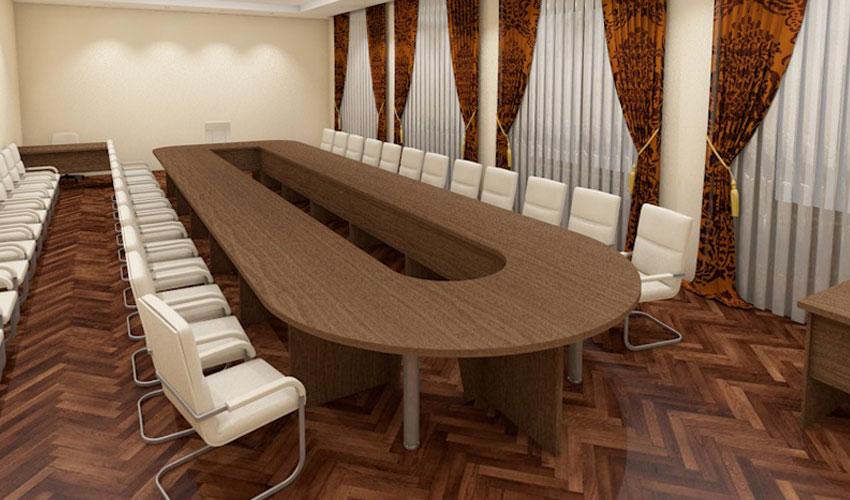 Фото 16. Проект конференц стола