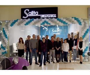 Салон Salita в ТЦ Dream Town-2 переехал на 1й этаж