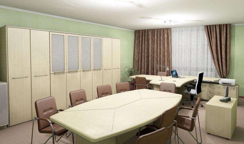 Фото 5. Проект кабинета Альянс