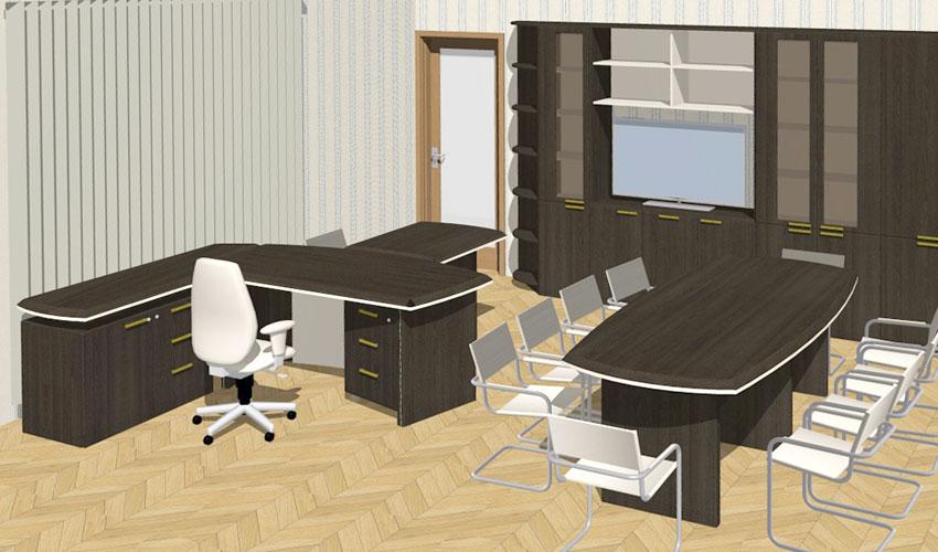 Фото 5. Проект кабинета Софт