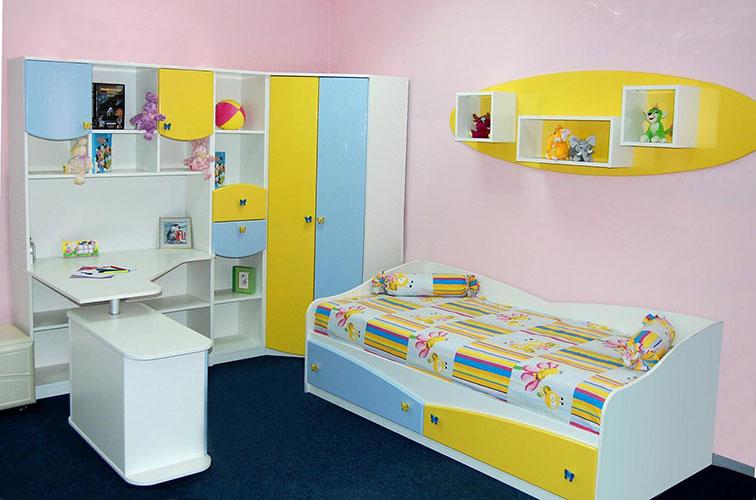 Готовая детская мебель