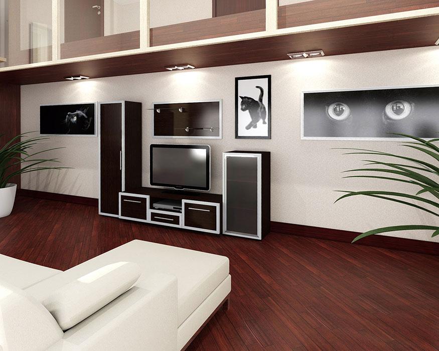 3D проекты гостиные