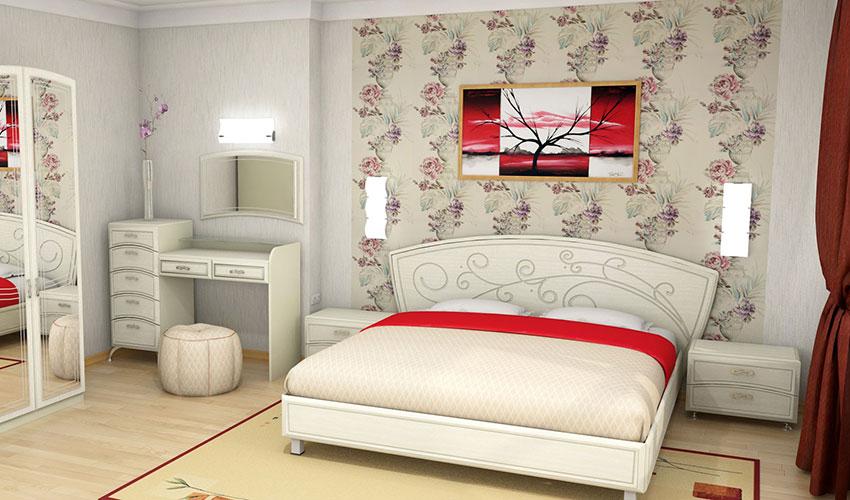 3D проекты спальней